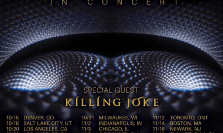 TOOL Announce Fall North American Tour with KILLING JOKE