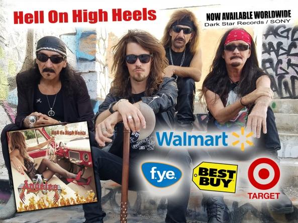 ANGELES new Outstanding Album Hell On High Heels