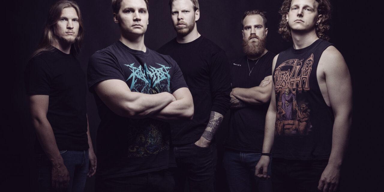 Finnish death metal band Omnivortex