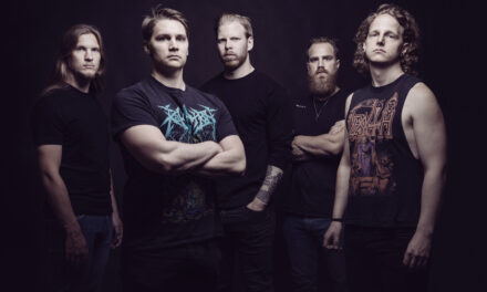 Finnish death metal band Omnivortex