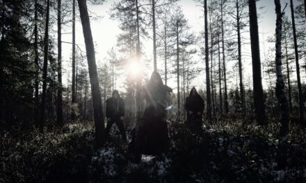 Finnish dark metal band Kaamos Warriors